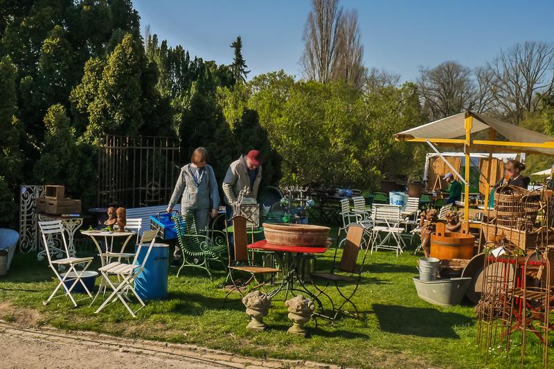 Antiques & Garden auf dem Berliner Staudenmarkt