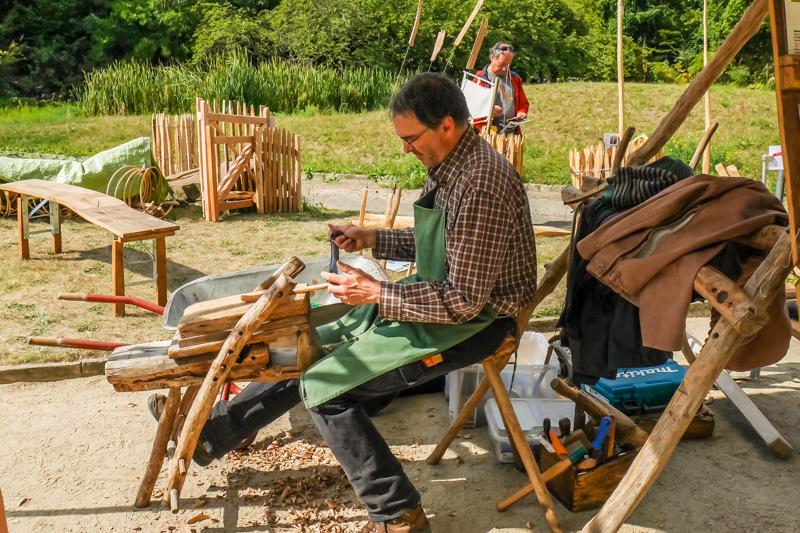 Atelier Wood Art auf dem Berliner Staudenmarkt