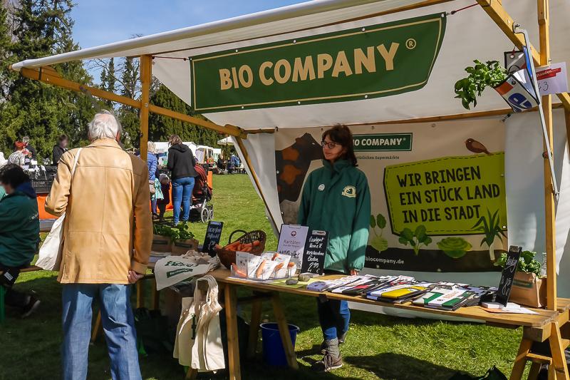Bio Company auf dem Berliner Staudenmarkt