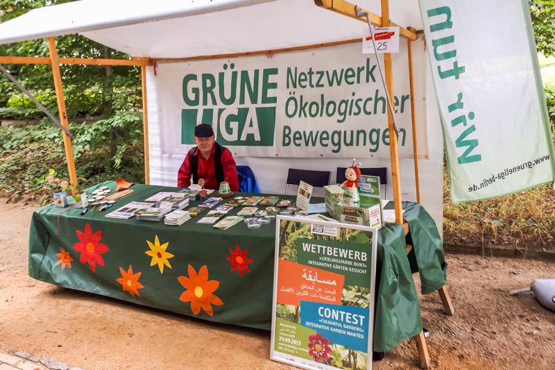 Grüne Liga Berlin e.V. auf dem Berliner Staudenmarkt