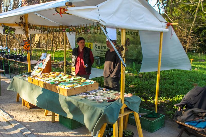 Keimzelle Ökosaatgut auf dem Berliner Staudenmarkt