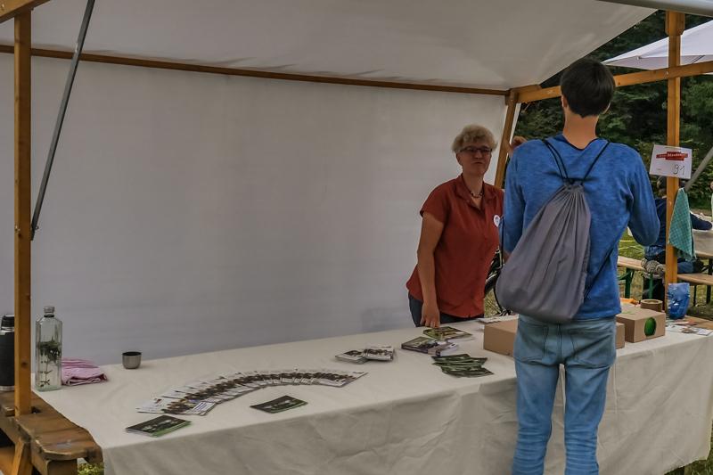 Stiftung Naturschutz Berlin auf dem Berliner Staudenmarkt