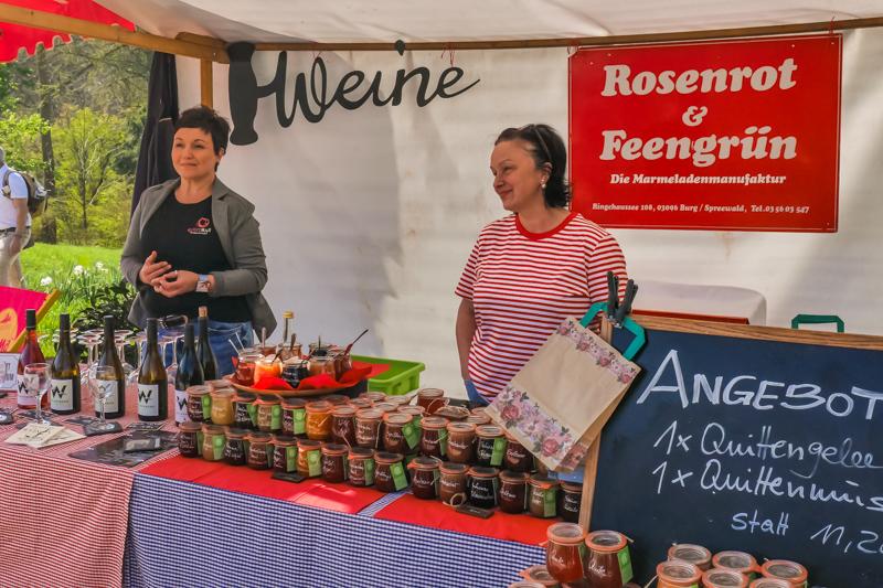 Rosenrot & Feengrün auf dem Berliner Staudenmarkt